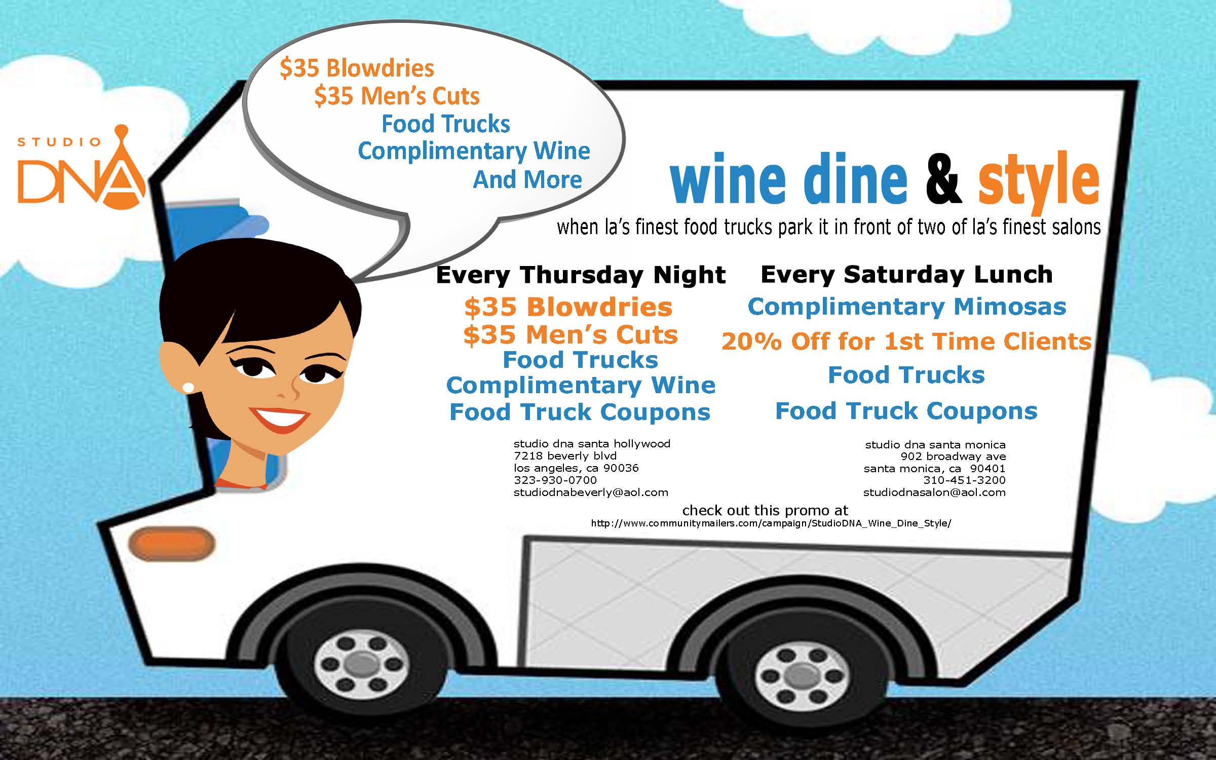 food truck promotion